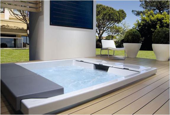 Teuco bath tubs for Mobilier exterieur luxe