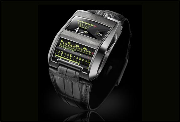 Urwerk Cc1 Black Cobra Watch | Image