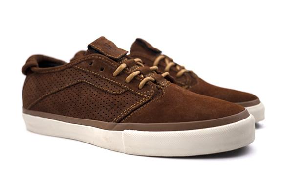 Vans Vault Velocita Brown Sneakers | Image