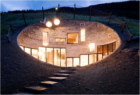 Villa Vals | Impressive Undergroung Residence For Rent | Image