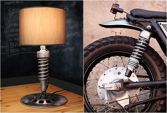 VINTAGE MOTORCYCLE LAMP | Image