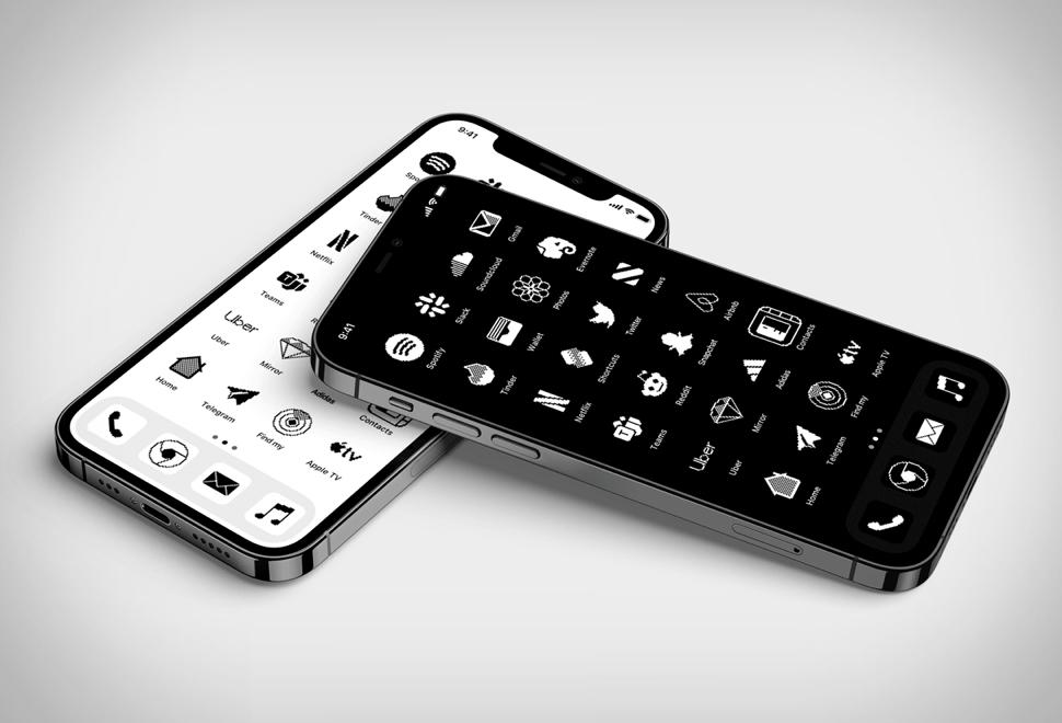 iOS Retro Icon Set   Image