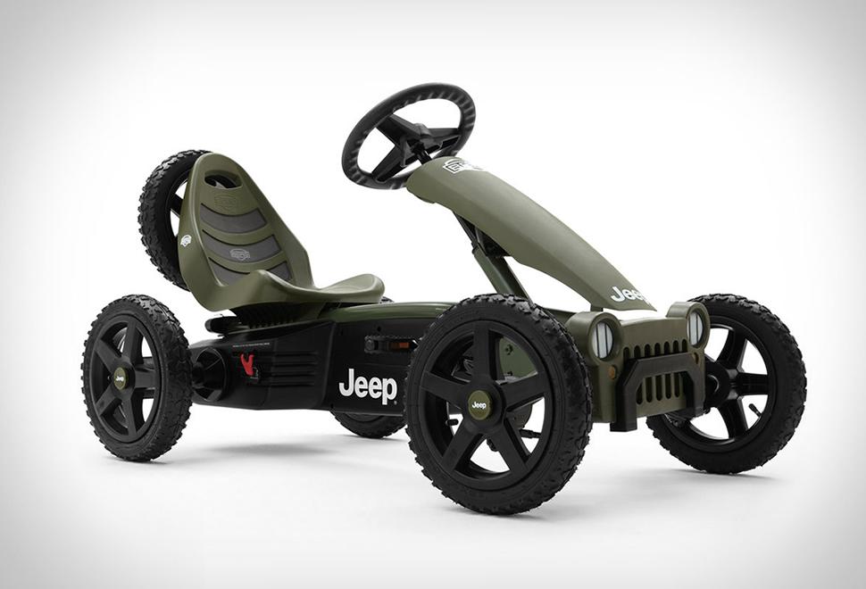 Jeep Pedal Go-Kart