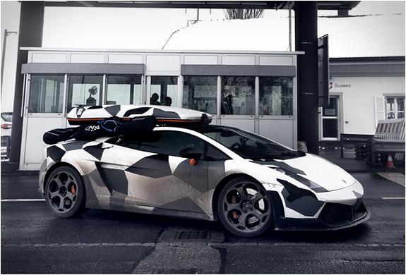 Jon Olsson Camouflage Lamborghini | Image