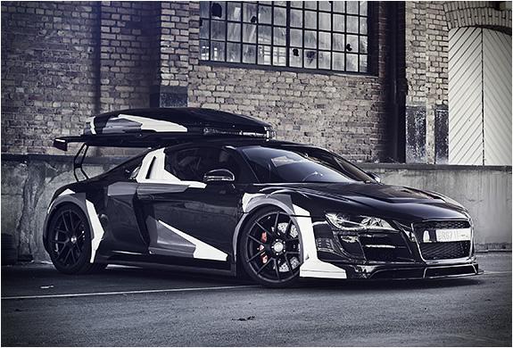 Jon Olsson Audi R8 Razor Gtr