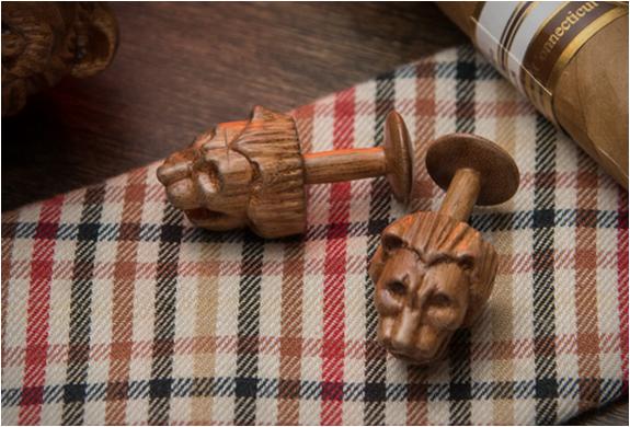 karv-wooden-cufflinks-3.jpg | Image