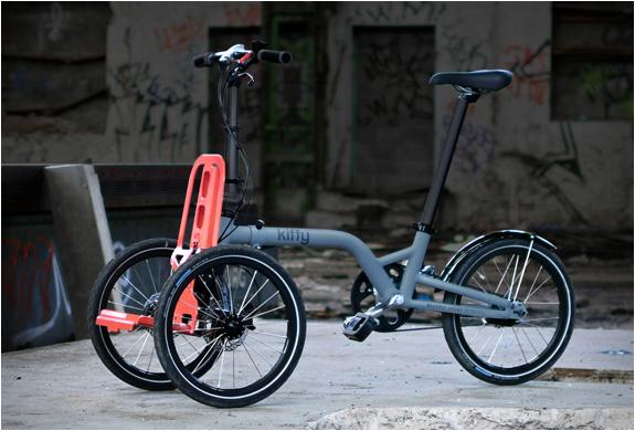 Kiffy Folding Tricycle