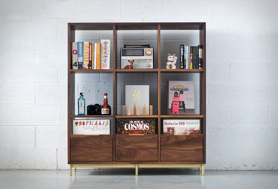 Korgis Record Bookshelf | Image