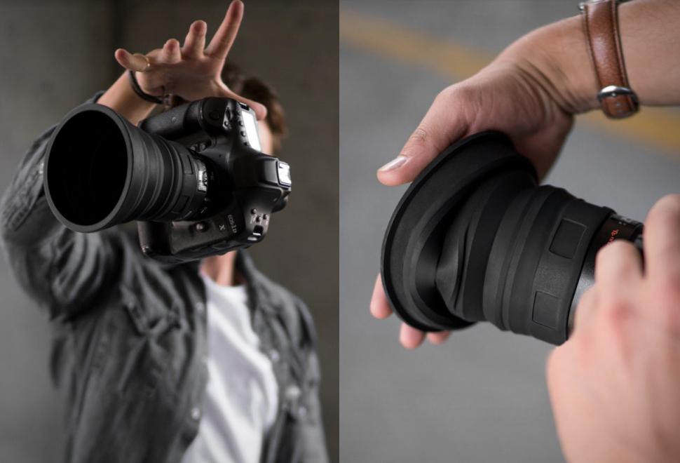 Kuvrd Universal Lens Hood | Image