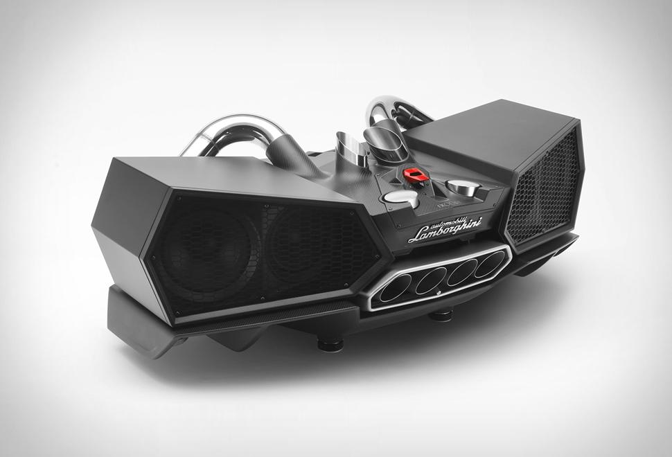 Lamborghini Exhaust Speaker | Image