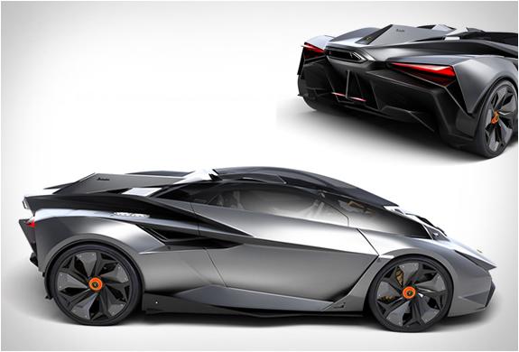 Lamborghini Perdigon Concept | By Ondrej Jirec | Image