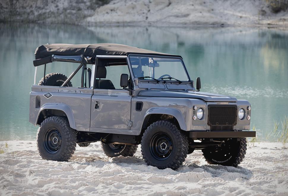 Land Rover D90 Grey | Image