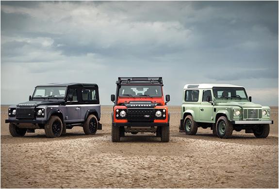 Land Rover Defender Celebration Series | Image