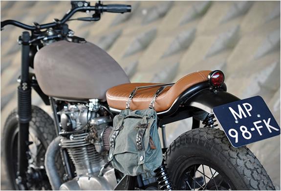 Left Hand Cycles Yamaha Xs Scrambler