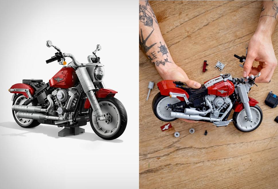 Lego Harley-Davidson Fat Boy | Image