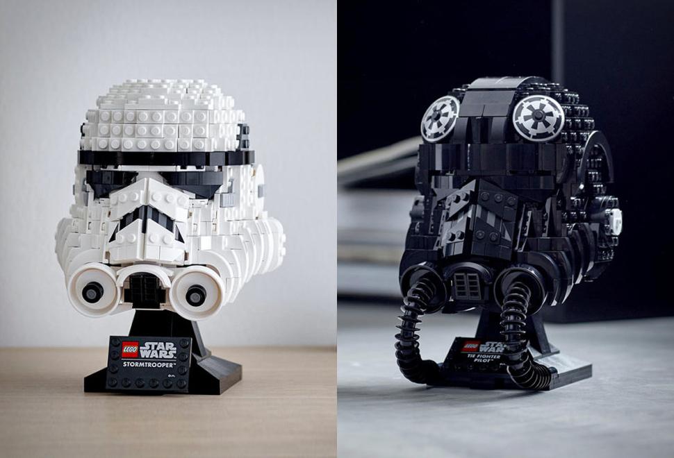 Lego Star Wars Helmets | Image