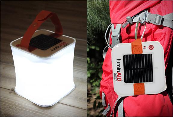 Luminaid Inflatable Solar Lantern | Image