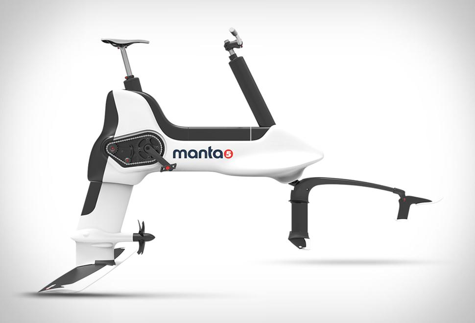 Manta5 Hydrofoil Bike | Image
