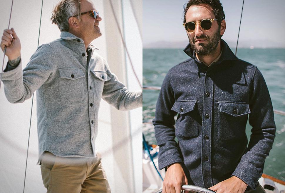 Maritime Shirt Jacket | Image