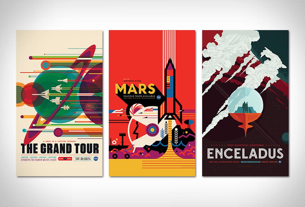 NASA Visions of the Future Posters