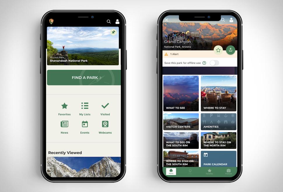 National Park Service App | Image