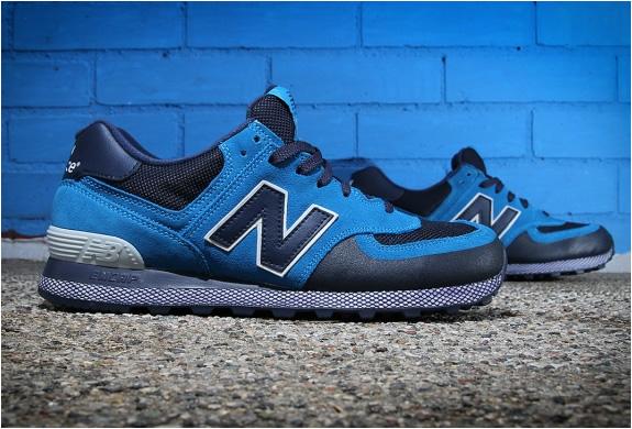 NEW BALANCE 574 BLUE/NAVY | Image