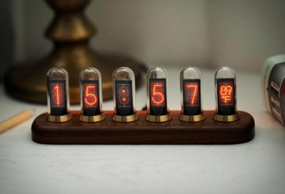 Nextube Retro Nixie Clock | Image