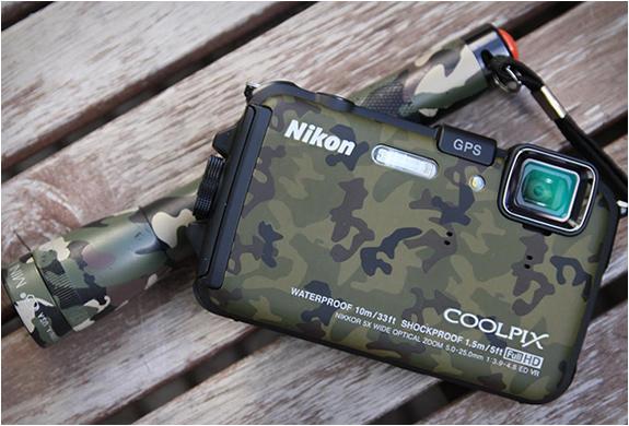 Nikon Coolpix Aw100 Camouflage | Image