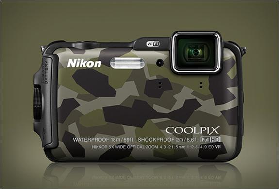 NIKON COOLPIX AW120 CAMOUFLAGE | Image