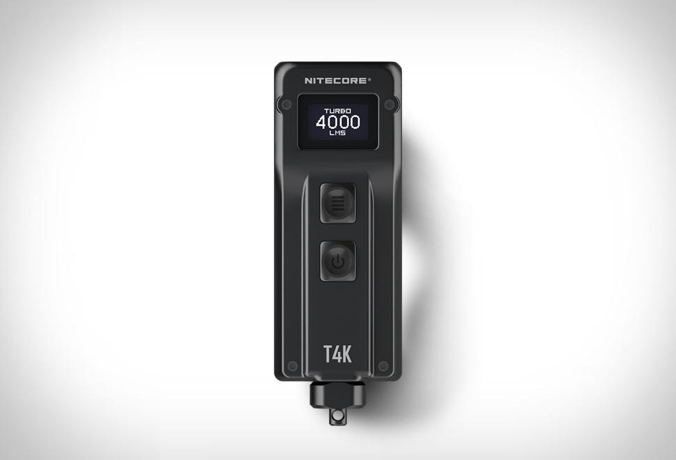 Nitecore T4K Flashlight | Image