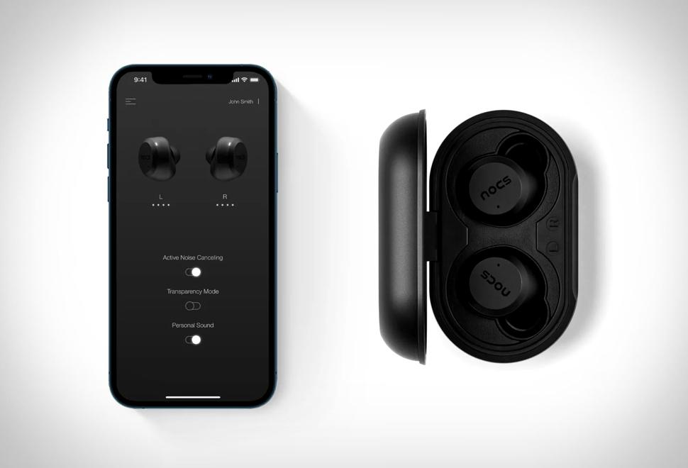 Nocs NS1100 AIR Earphones | Image