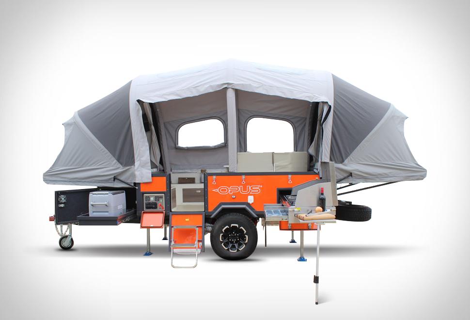 Opus Inflating Camper | Image