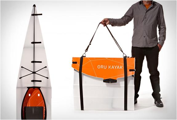 ORU KAYAK | ORIGAMI FOLDING BOAT | Image