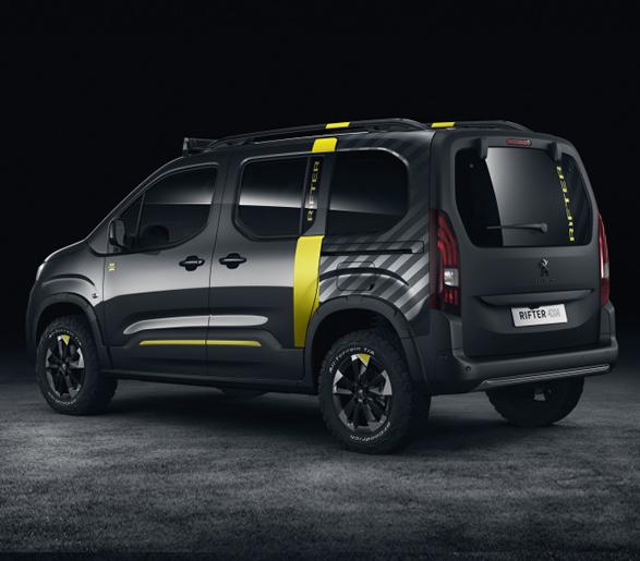 Peugeot Rifter 4x4