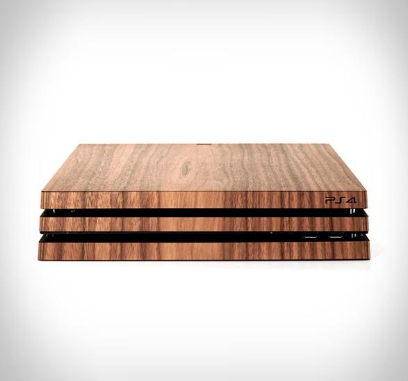 playstation-wood-skin-3.jpg | Image
