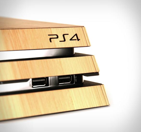 playstation-wood-skin-5.jpg | Image