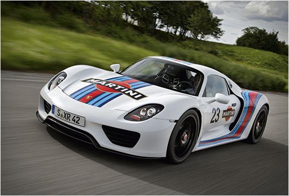 Porsche 918 Spyder X Martini Racing | Image
