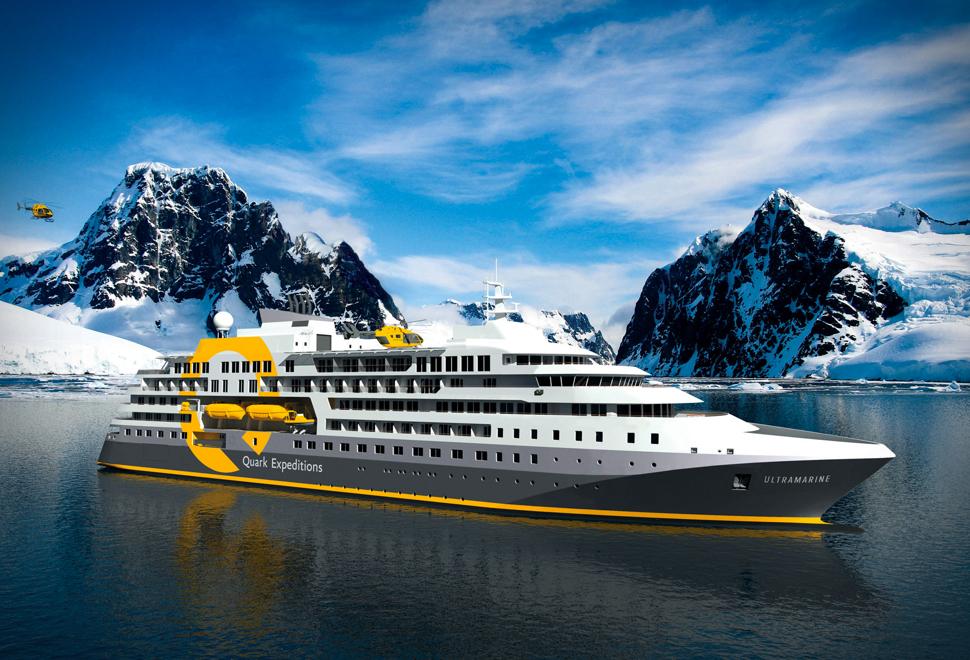 QUARK EXPEDITIONS ULTRAMARINE CRUISE SHIP | Image