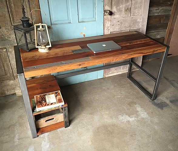 reclaimed-wood-patchwork-desk-4.jpg | Image