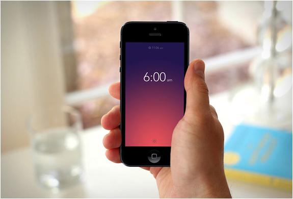 Rise | Minimalist Alarm Clock App | Image