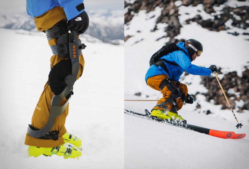 Roam Elevate Ski Exoskeleton | Image