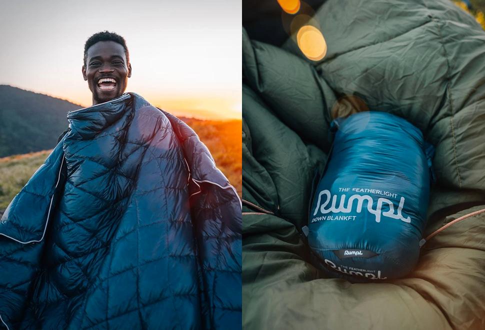Rumpl Featherlite Down Blanket | Image