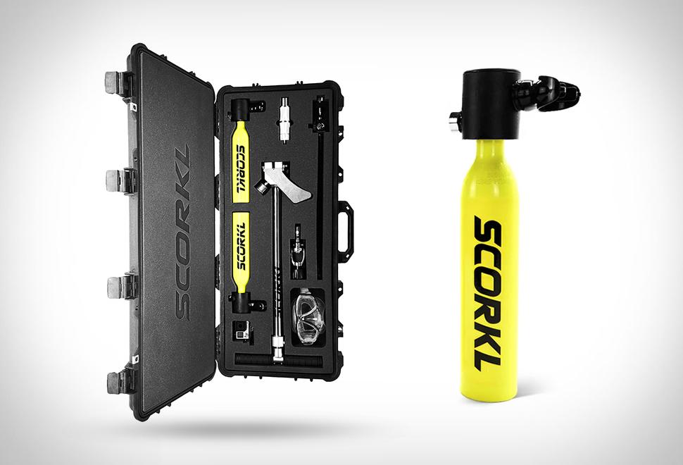 Scorkl Handheld Scuba Tank | Image
