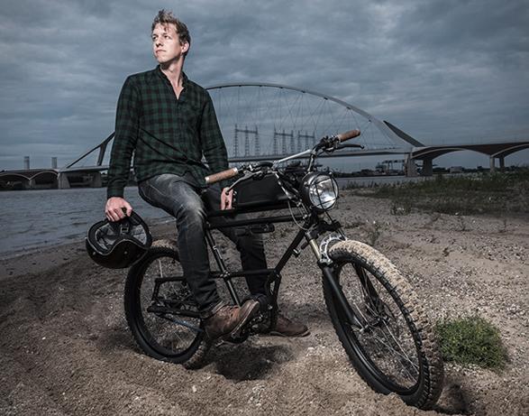 Scrambler E Bike
