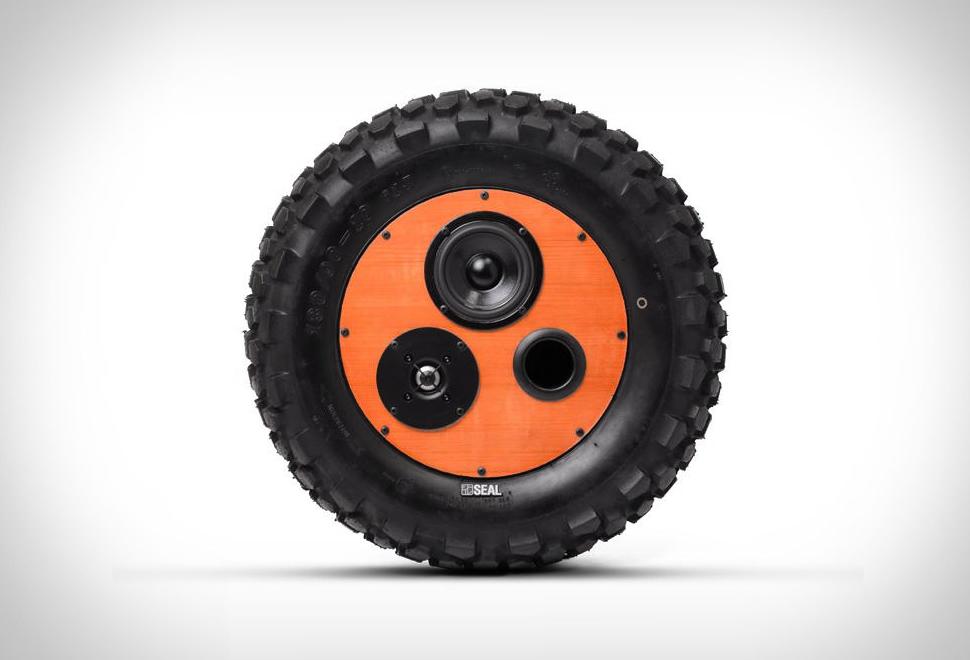 Seal Tire Speaker | Image