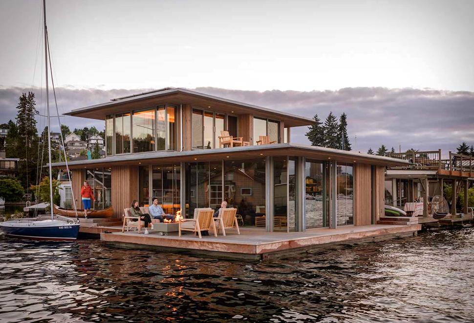 Seattle Water Cabin | Image