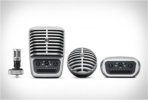 Shure Motiv Digital Microphones | Image