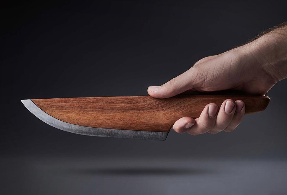 SKID Wooden Chef Knife | Image