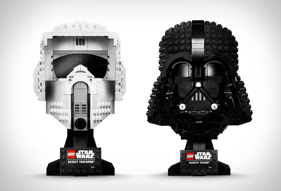 Star Wars Lego Helmets | Image