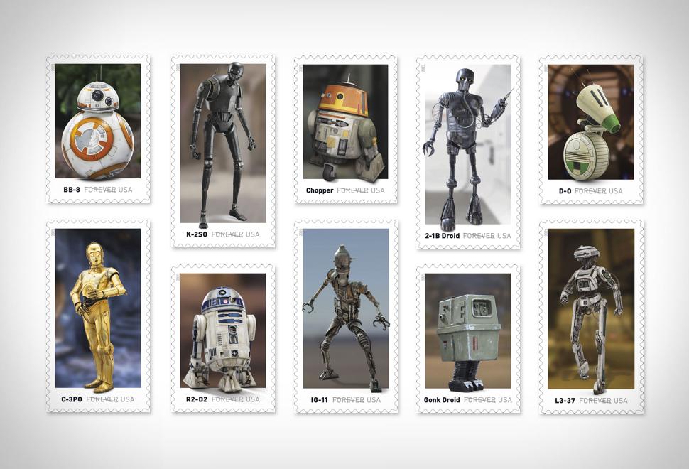 Star Wars Stamps   Image